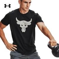 UNDER ARMOUR 安德玛 UA Rock强森 1357186 男款运动短袖T恤