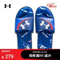 安德瑪官方UA Ignite Morph DPM男子運動拖鞋Under Armour3022710 深藍色400 42.5 *4件