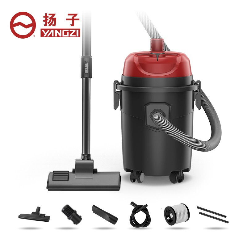 扬子(YANGZI)吸尘器家用商用小型大功率干湿吹三用大吸力桶式地毯装修美缝洗车用 YZ-101-1