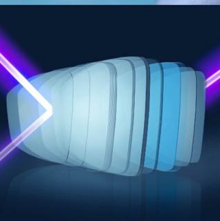 essilor 依视路 钻晶全视线系列 1.67折射率 非球面镜片 第八代 1片装 A3膜层灰变定制片