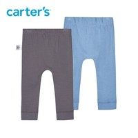 Carter's 孩特 嬰兒休閑針織長褲子 2件裝