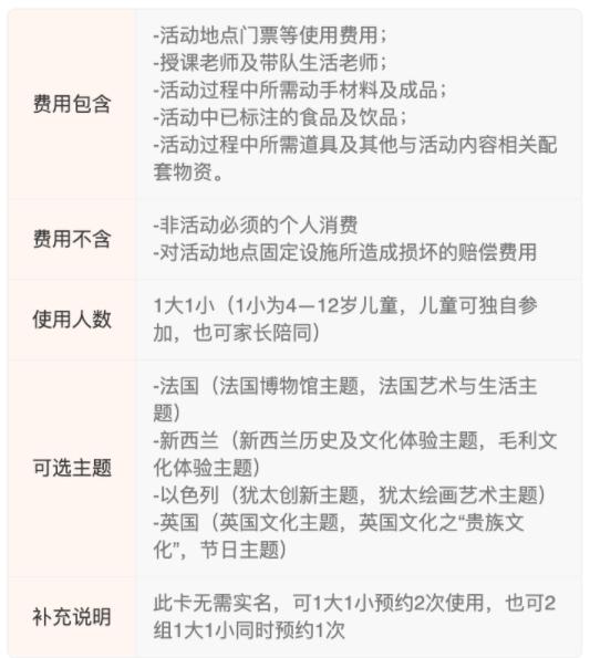 北京2店通用!创享空间小小外交官研学2次卡