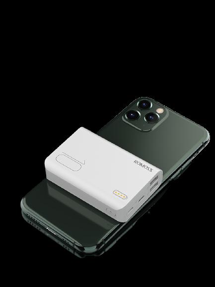 ROMOSS 罗马仕 sense4 mini 移动电源 白色 10000mAh Type-C 10W快充
