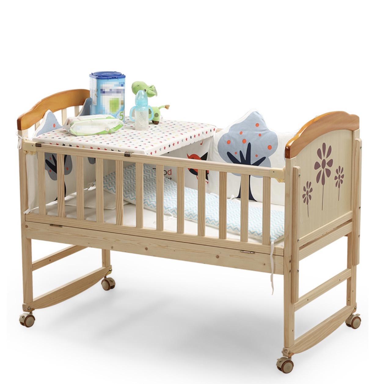 zhibei 智贝 ZB698 婴儿床