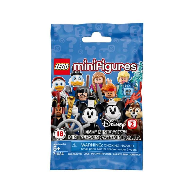 LEGO 乐高  miniFigures 抽抽乐 71024 迪士尼第2季人仔 *3件