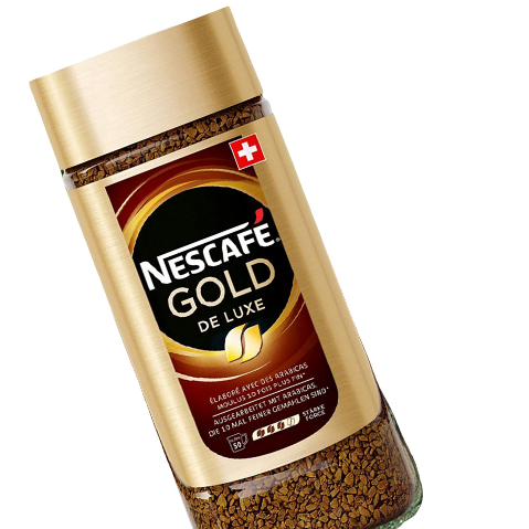 Nestlé 雀巢 瑞士进口 Nestle雀巢 金牌速溶咖啡 黑咖啡 原味 200g/瓶