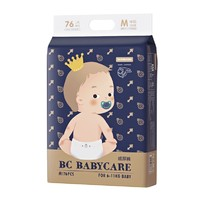 BabyCare 皇室 婴儿纸尿裤 M76片 *3件