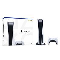 SONY 索尼 日版 光驱版 PlayStation 5系列 PS5  游戏机 825GB 白色