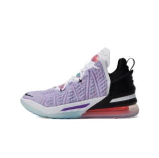 NIKE 耐克 LEBRON XVIII EP 男子篮球鞋 CQ9284-900 紫色/黑色/红色 44