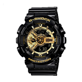 CASIO 卡西欧  G-SHOCK系列 51.2毫米电子腕表 GA-110GB-1A 礼盒装
