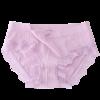 Huatinglu 华婷露 女士三角内裤套装 3条装(香芋紫+藕粉色+黑色)