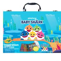 Crayola繪兒樂 鯊魚寶寶兒童畫畫套裝禮盒