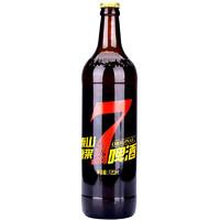 限地区:TAISHAN 泰山啤酒 原浆全麦酿造7天鲜啤10度 720ml*6瓶
