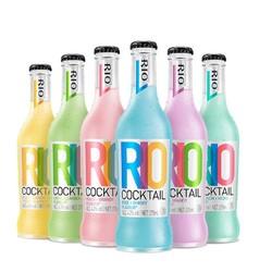 RIO 锐澳 经典瓶新品6口味 275ml*6瓶 *3件