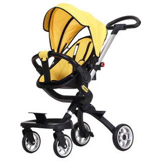 小猪酷琦双向溜娃神器手推车遛娃儿童婴儿推车婴儿车轻便折叠宝宝
