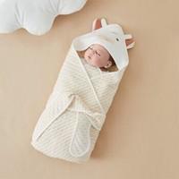 Wellber 威尔贝鲁 婴儿抱被春秋款 80cm*80cm +凑单品