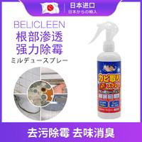 日本進口家用衛生間廚房墻體除霉劑 霉斑防霉劑 祛霉神器除霉噴霧