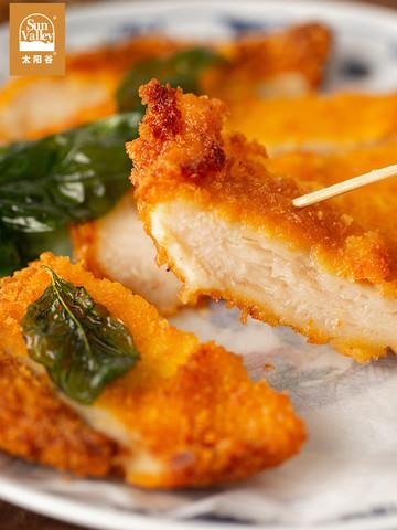 太阳谷台式风味香酥大鸡排鲜美鸡肉速食炸鸡排加热即食1.5kg共3包