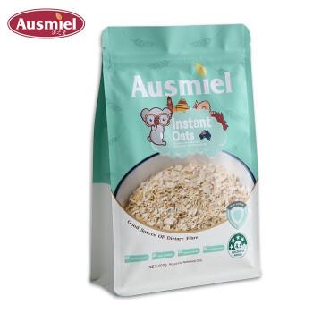 京东PLUS会员:澳之麦  即食燕麦片  400g *2件