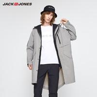 JackJones 杰克琼斯 219321547 男士中长款风衣外套