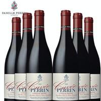 女神节必备: 佩兰家族 珍藏罗纳河谷丘AOC 干红葡萄酒 750ml*6支
