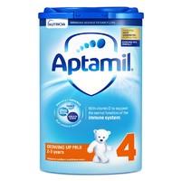 88VIP:Aptamil 爱他美 英国版 婴幼儿奶粉 4段 800g *5件