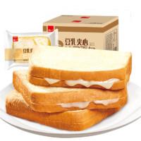 泓一 奶酪夹心豆乳切片早餐面包 400g