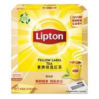 Lipton 立顿 黄牌精选红茶包 100包