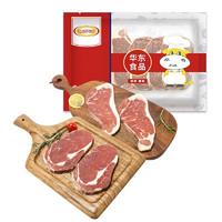 HUADONG 华东 原切西冷牛扒眼肉牛排 6片 800g