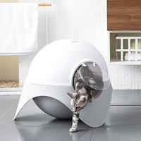 Zeze 全封闭式太空舱猫厕所