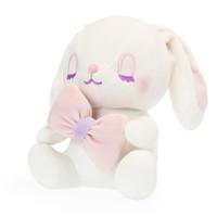 DORE 兔子玩偶抱枕公仔 白色(蝴蝶結)