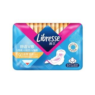 Libresse 薇尔 舒适V感系列日用卫生巾 19cm*22片