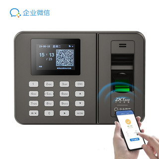 京东PLUS会员 : ZKTeco 中控智慧 WX3960 指纹打卡机 WiFi升级款