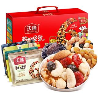wolong 沃隆 WOLONG 沃隆 每日坚果礼盒 加油定制版 750g 28包