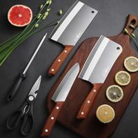 力王 菜刀套装 五件套刀