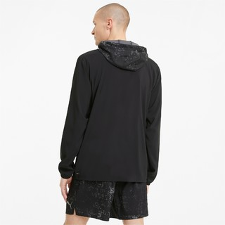 PUMA 彪马 Run 男子运动外套 520205-01 黑色 XS