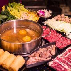 上海2店通用!九牛二炉•潮汕鲜牛肉火锅3-4人餐
