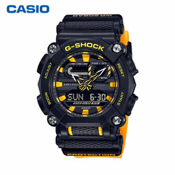 卡西欧(CASIO)手表 G-SHOCK YOUTH系列 防震防水LED照明运动男士手表 GA-900A-1A9