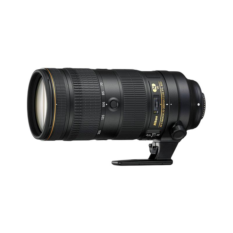 Nikon 尼康 AF-S 70-200mm F2.8E FL ED VR 远摄变焦镜头 尼康F卡口 77mm