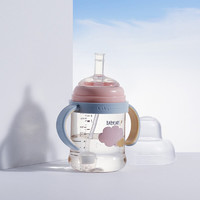 babycare新生婴儿3.0成长奶瓶学饮杯