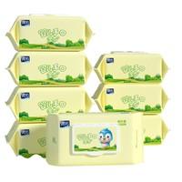 88VIP、再降价:德佑 婴儿专用手口湿巾 80抽 8包 *5件