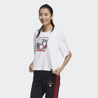 adidas 阿迪达斯 NEO W CNY WW TEE 吾皇万睡联名 GP5740 女子短袖T恤