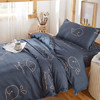 花花公子家纺三件套 上下铺单人宿舍床上用品三件套单人1.5米学生宿舍床单0.9米床寝室床上六件套垫背