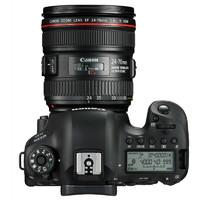 Canon 佳能 EOS 6D2 全画幅 单反相机 单镜头套机 黑色(EF 24-70mm F4L IS USM 单反镜头)