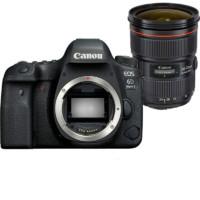 Canon 佳能 EOS 6D2 全画幅 单反相机 单镜头套机 黑色(24-70mm F2.8L II USM 单反镜头)