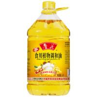 【鲁花直销】 鲁花 大豆食用植物调和油 5L