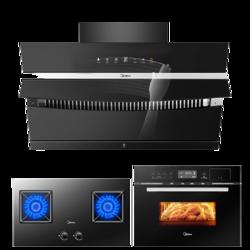 Midea 美的 CXW-280-J58+Q330+TQN34FBJ-SA 烟灶烤套装
