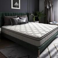 6日0点:SLEEMON 喜临门 4D磁悬浮护脊版 椰棕弹簧床垫 1.5m/1.8m