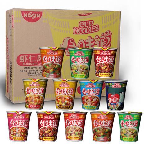 NISSIN  日清食品 合味道 方便面整箱 80g*12杯
