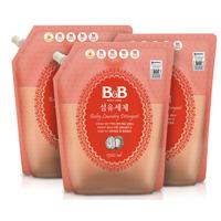 B&B 保宁 洗衣液 补充装 1.3L*3袋